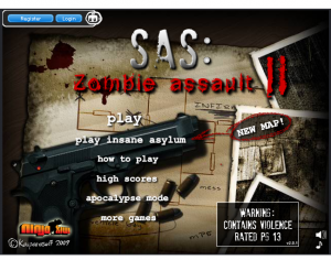 Like barracading yourself inside against zombie invasion? Or do you just need some practice? Zombie Assult 2 gives you all the tools to hone your barracading prowess.